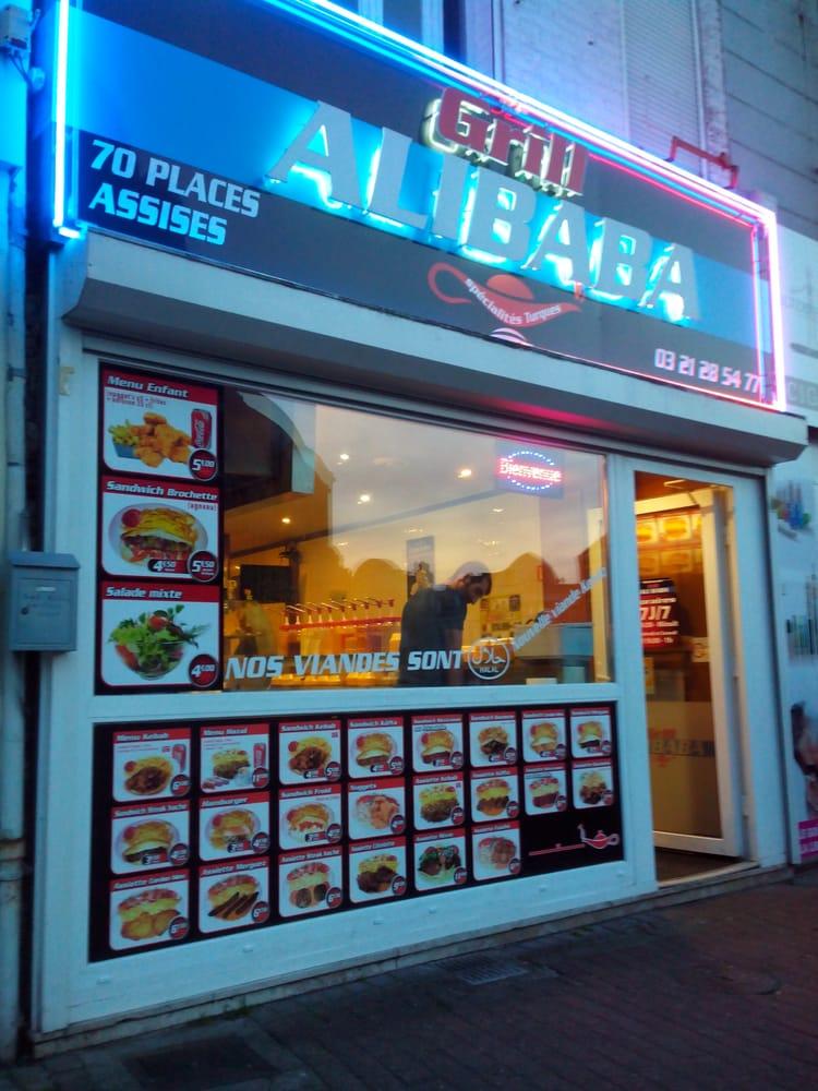 Grill Ali Baba Restaurants 60 Place Carnot Hnin Beaumont Pas