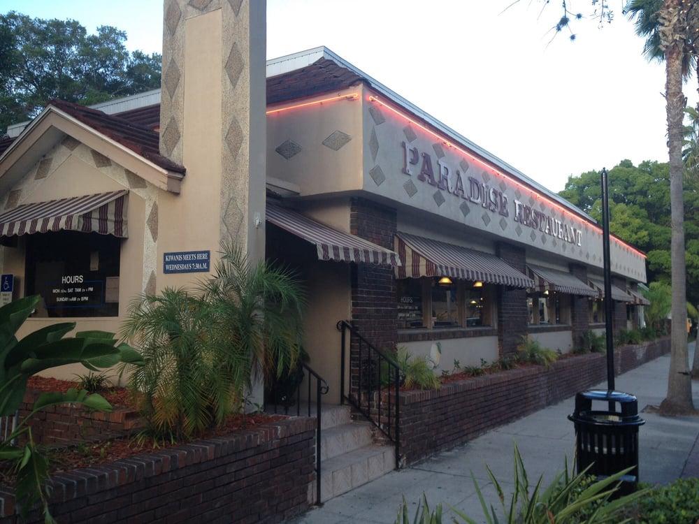 The Paradise Restaurant Safety Harbor Fl