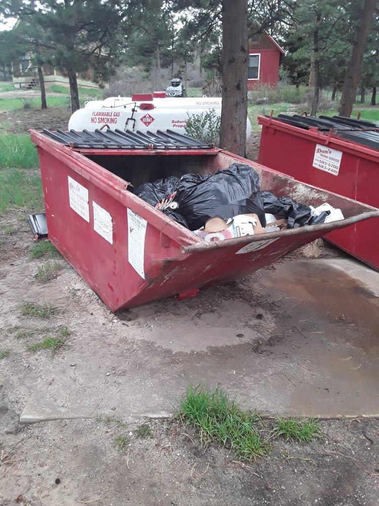 Dan's Trash Service: 24289 N Elbert Rd, Elbert, CO