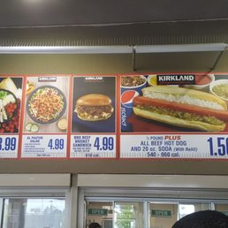 Photos For Costco Food Court Menu Yelp