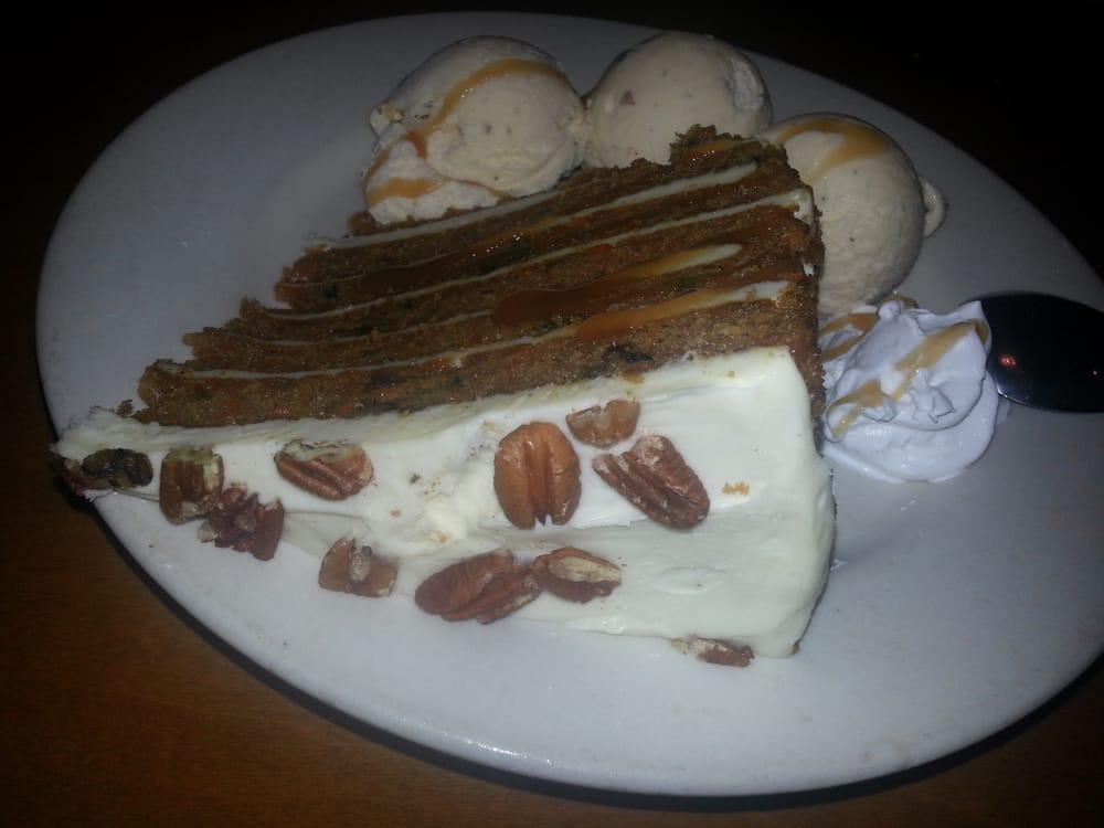 Carrot cake and homemade praline ice cream yelp for City fish oldsmar