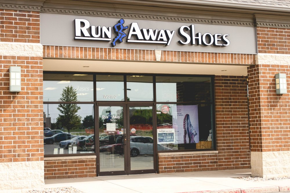 Run Away Shoes: W3192 County Rd Kk, Appleton, WI