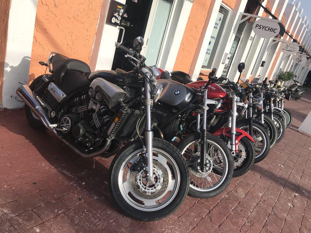 Motorcycle Sunshine