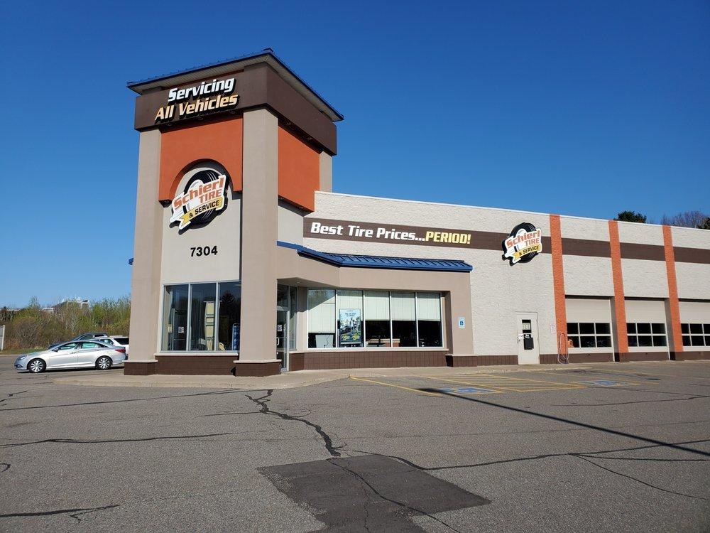 Schierl Tire & Service: 7304 Stoneridge Dr, Weston, WI