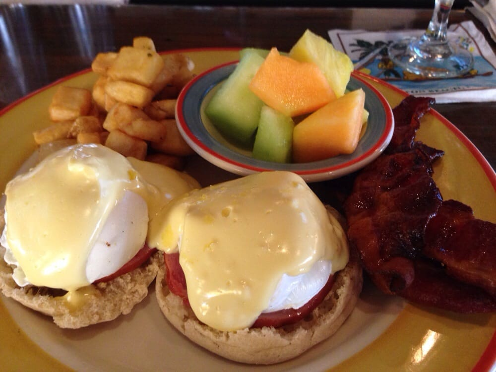 ... Classic (Canadian bacon) Eggs Benedict with an additional side of
