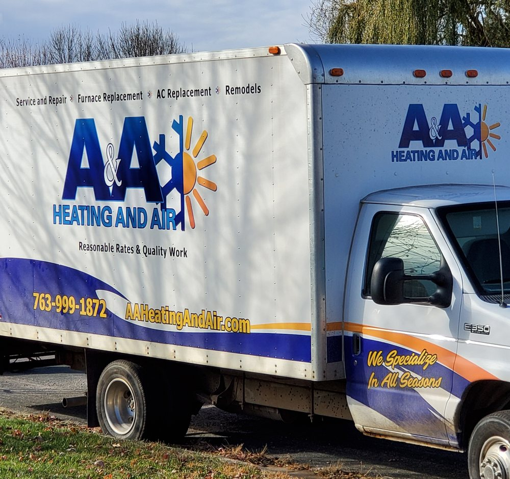 A & A Heating And Air Conditioning: 404 7th St NE, Buffalo, MN