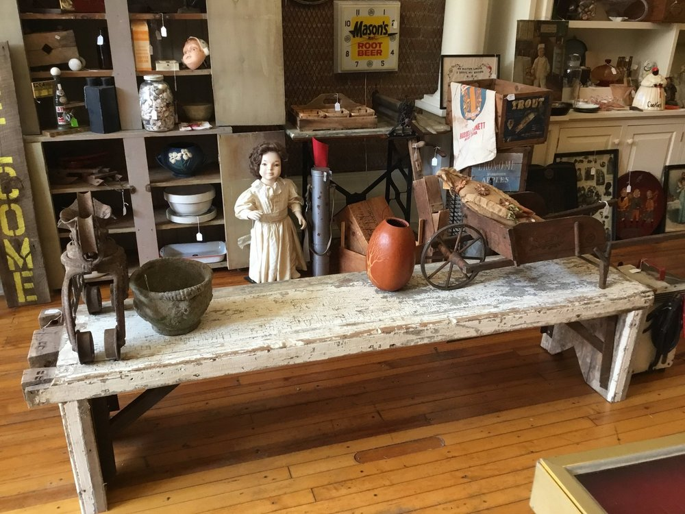 Muddy Fork Antiques: 219 E Main St, Madison, IN