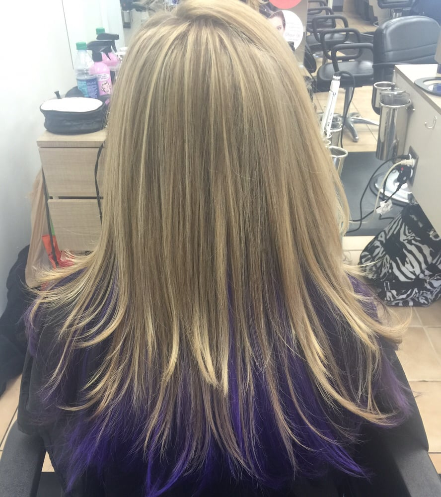 Hair Color Cut And Style Done By Samantha Call To Book Your