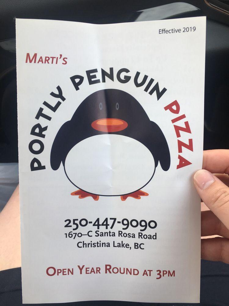 Portly Penguin Pizza: 1670 Santa Rosa Rd, Christina Lake, BC