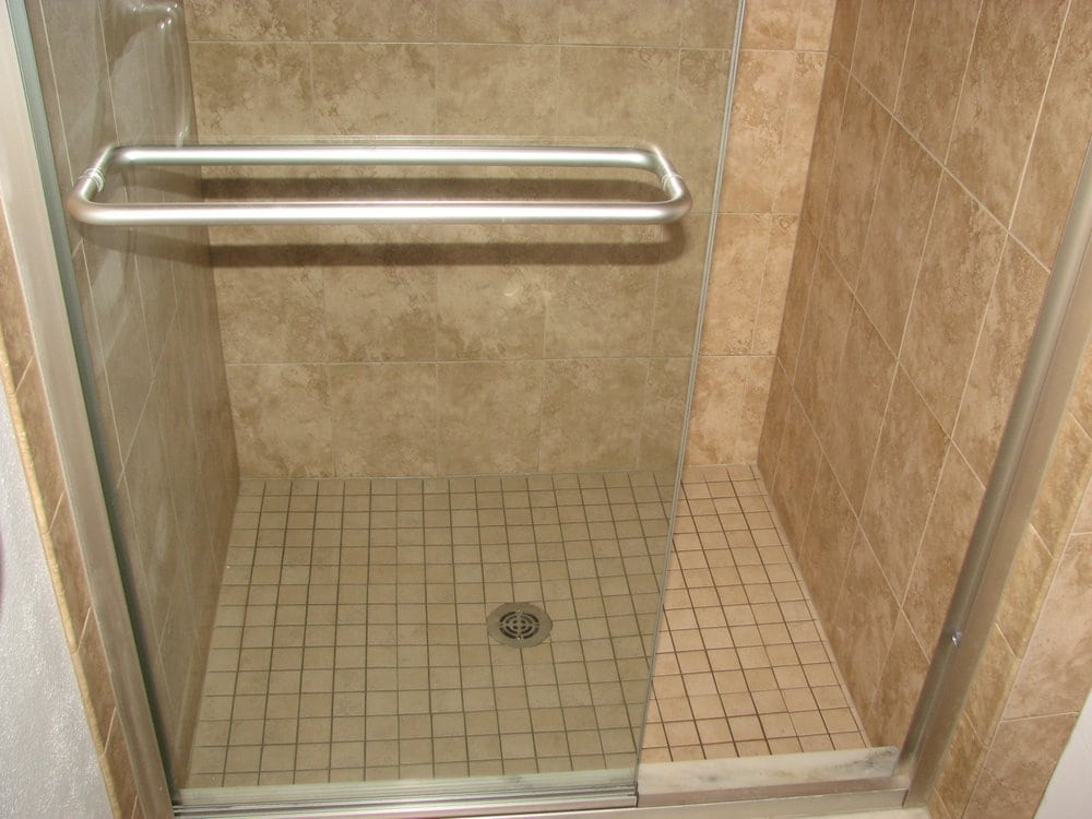how to clean shower stall floor