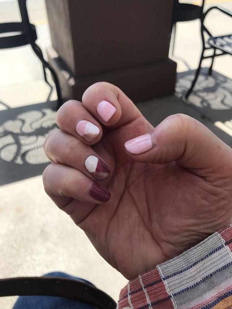 Fun spring Nails! - Yelp