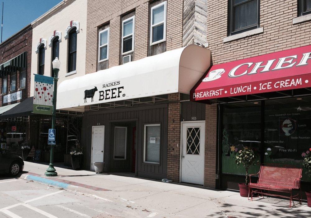 Raikes Beef Co: 1408 Silver St, Ashland, NE