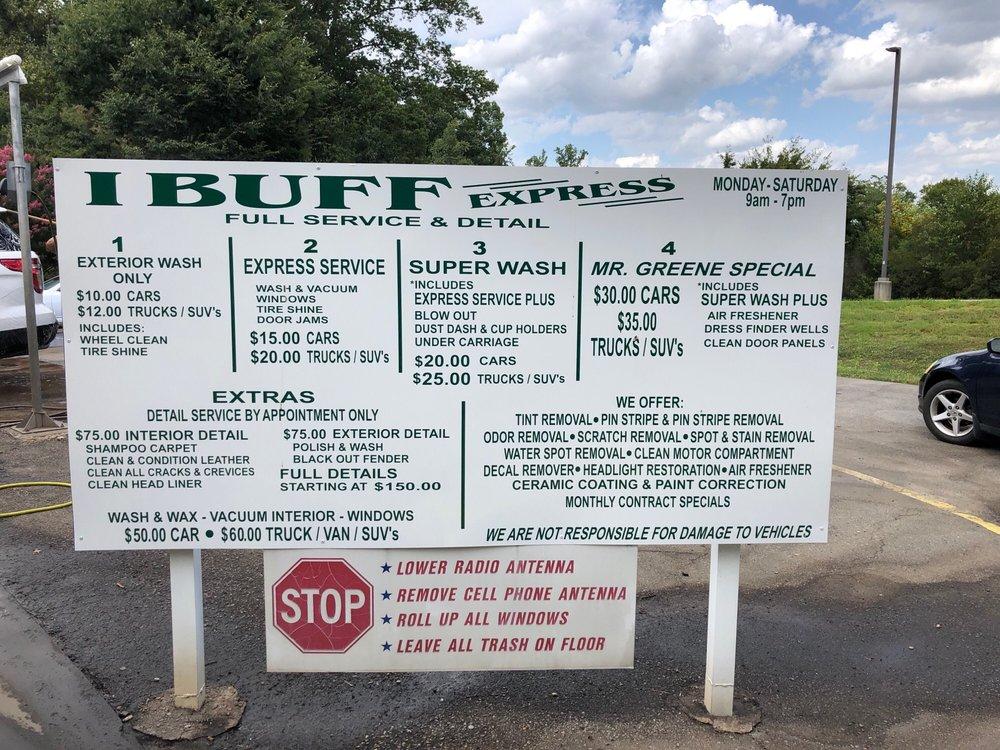 IBUFF Express Full Service Car Wash: 922 Yadkinville Rd, Mocksville, NC