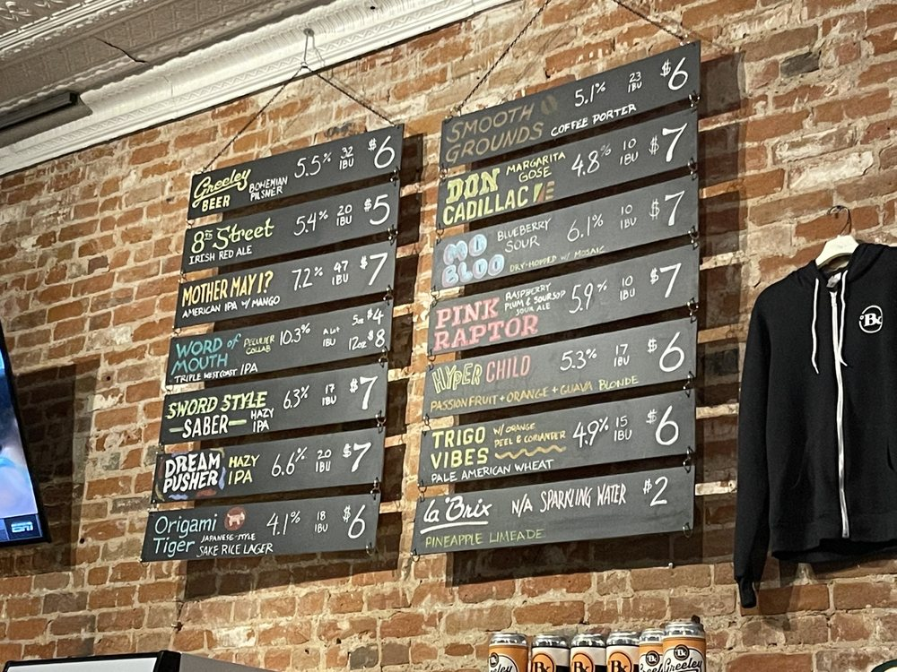 Food from Brix Brewery and Taphouse