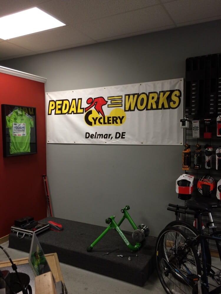 Pedal Works Cyclery: 38613 Benro Dr, Delmar, DE