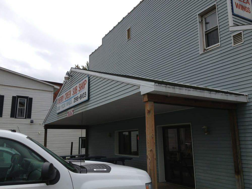 Cherry Creek Sub Shop: 6775 Main St, Cherry Creek, NY