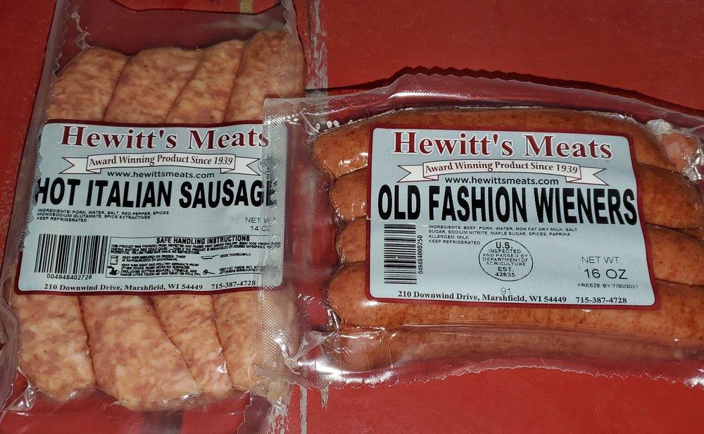 Hewitt's Meats: 210 Downwind Dr, Marshfield, WI