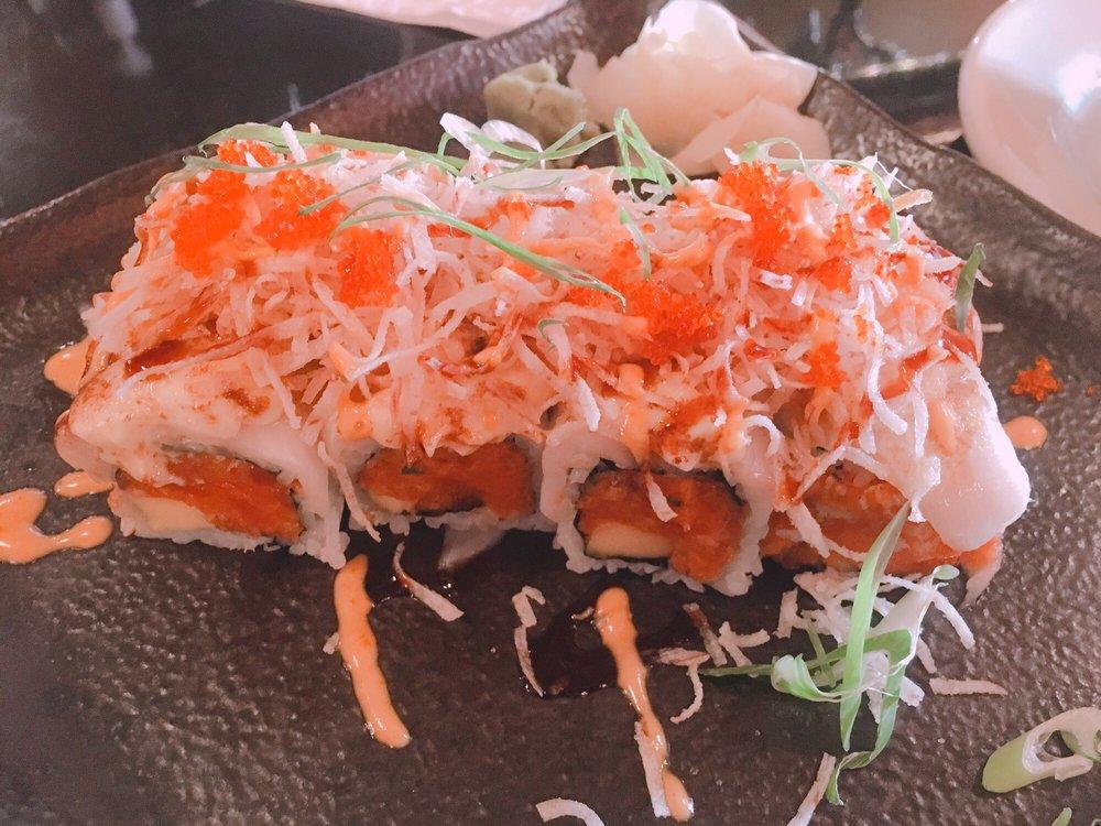 Food from Samba Steak & Sushi
