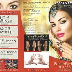 Bonita Eyebrows Threading Henna Art 23 Photos 26 Reviews