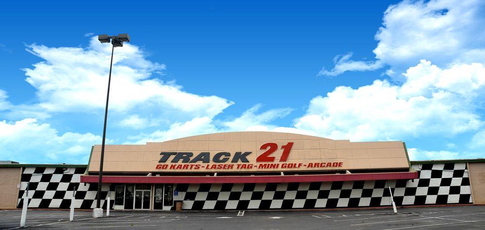 Track 21 Indoor Karting & More: 4815 Hwy 6 N, Houston, TX