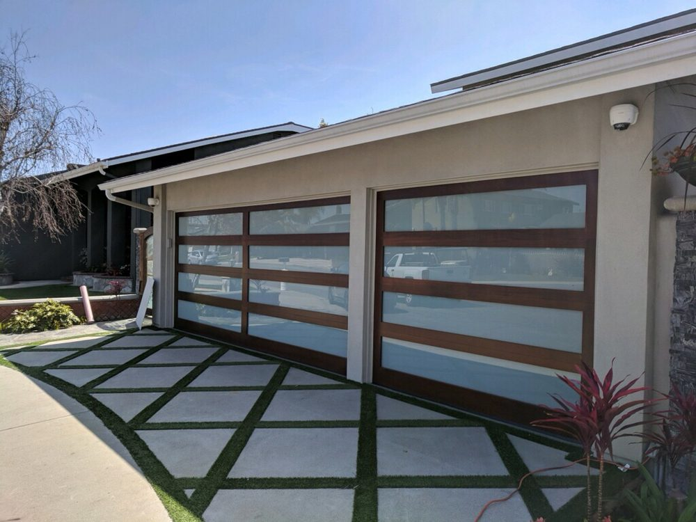 Photo Of Cityscape Garage Doors Costa Mesa Ca United States New Wood