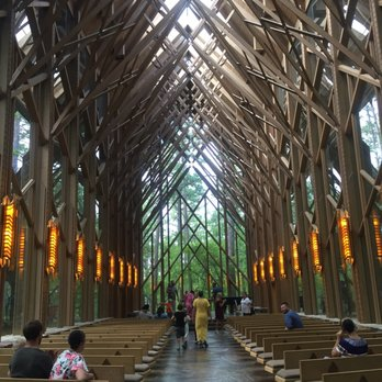 Photo Of Garvan Woodland Gardens   Hot Springs, AR, United States. Chapel  Interior