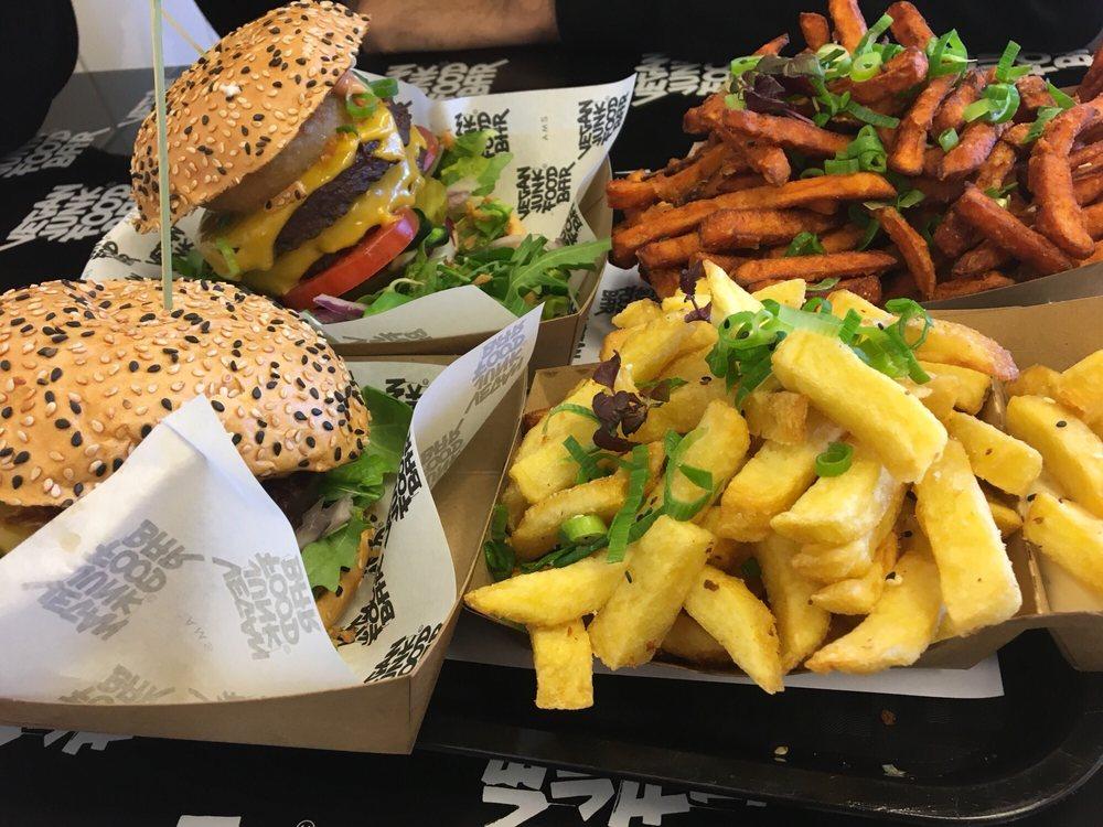 Photos for vegan junk food bar yelp for Bar food vegetarian