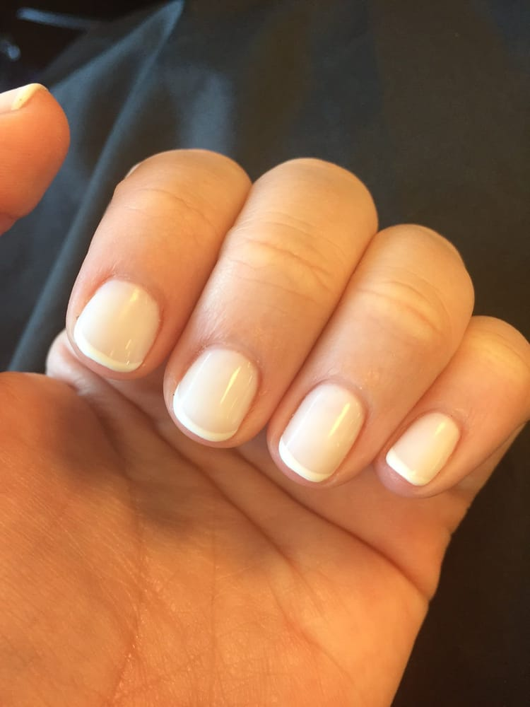 OPI Funny Bunny gel French Manicure - Yelp