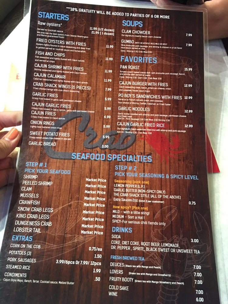 Food Menu Yelp
