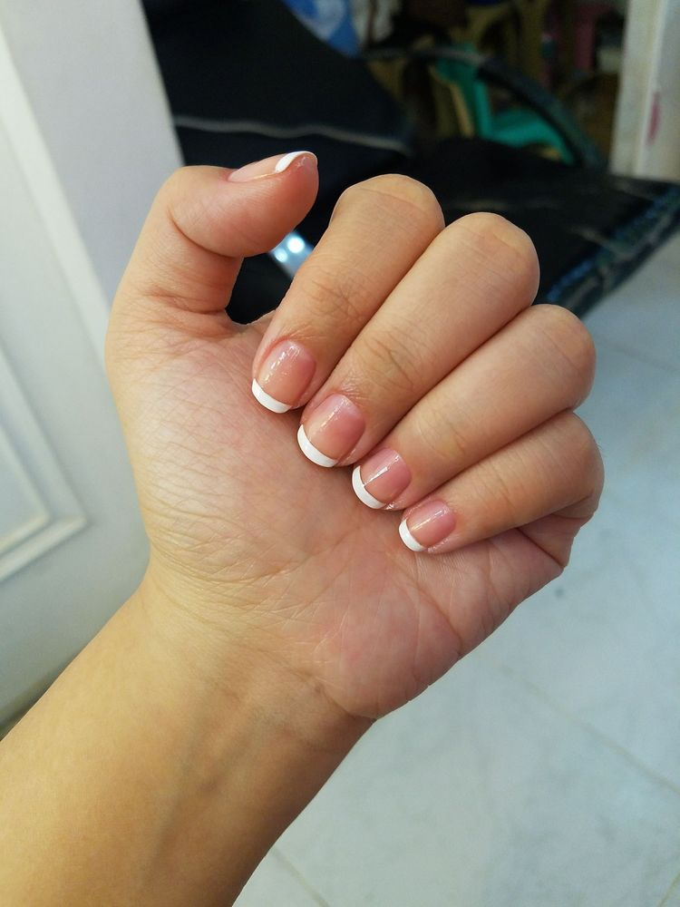 French nails 500 PHP - Yelp