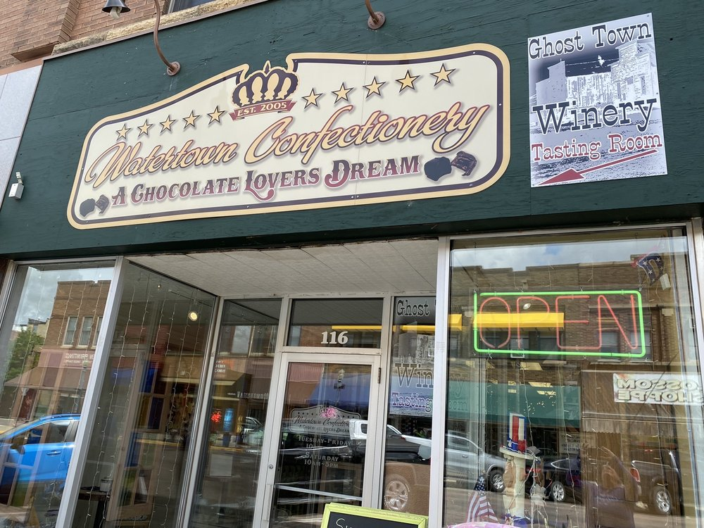 Watertown Confectionery: 116 E Kemp Ave, Watertown, SD