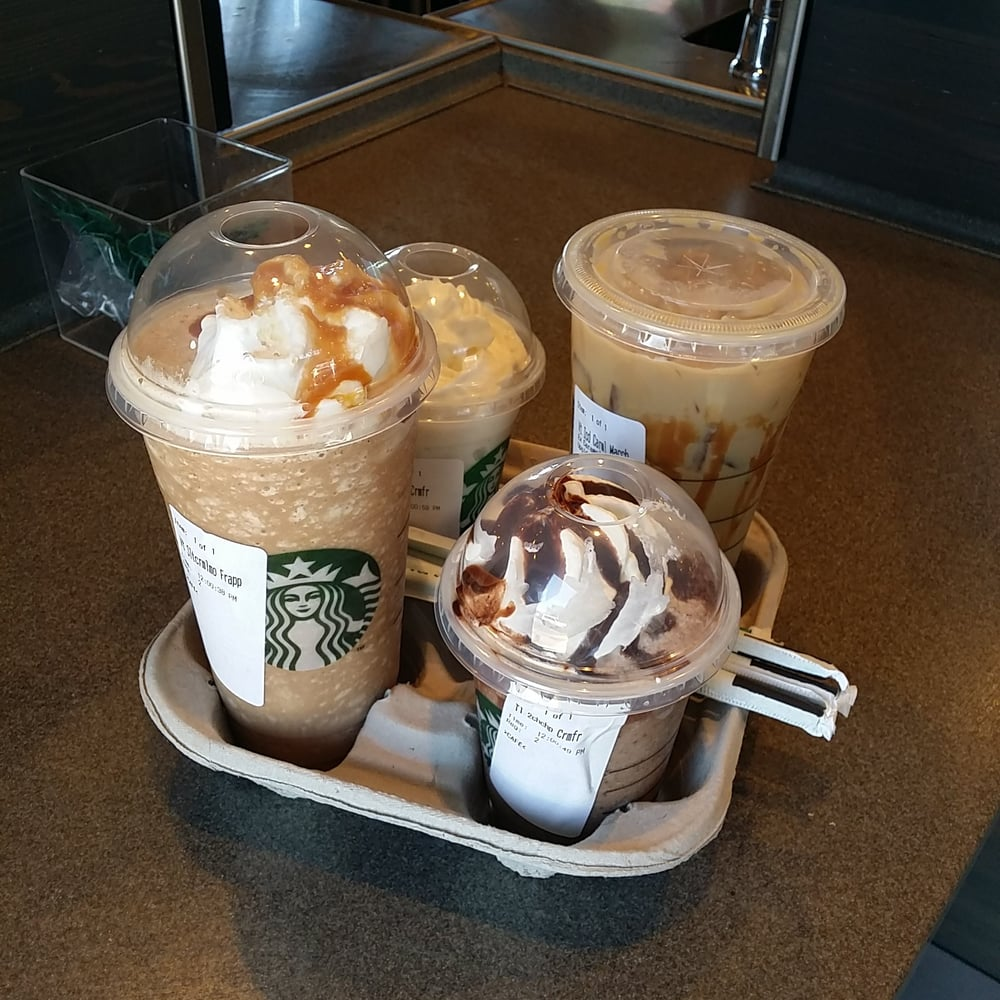 Salted Caramel Frappuccino Double Chocolate Chip