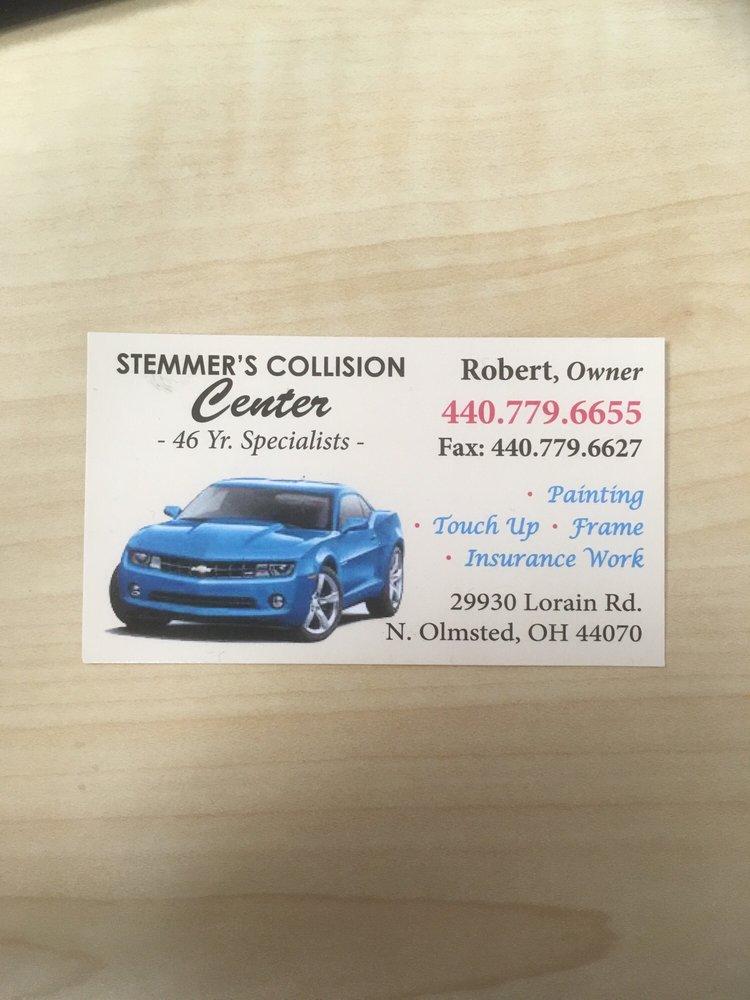 Stemmer's Auto Body