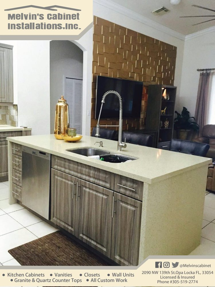 Melvin's Cabinet Installation - Request a Quote - Cabinetry - 2090 NW 139th St, Opa-locka, FL - Phone Number - Yelp