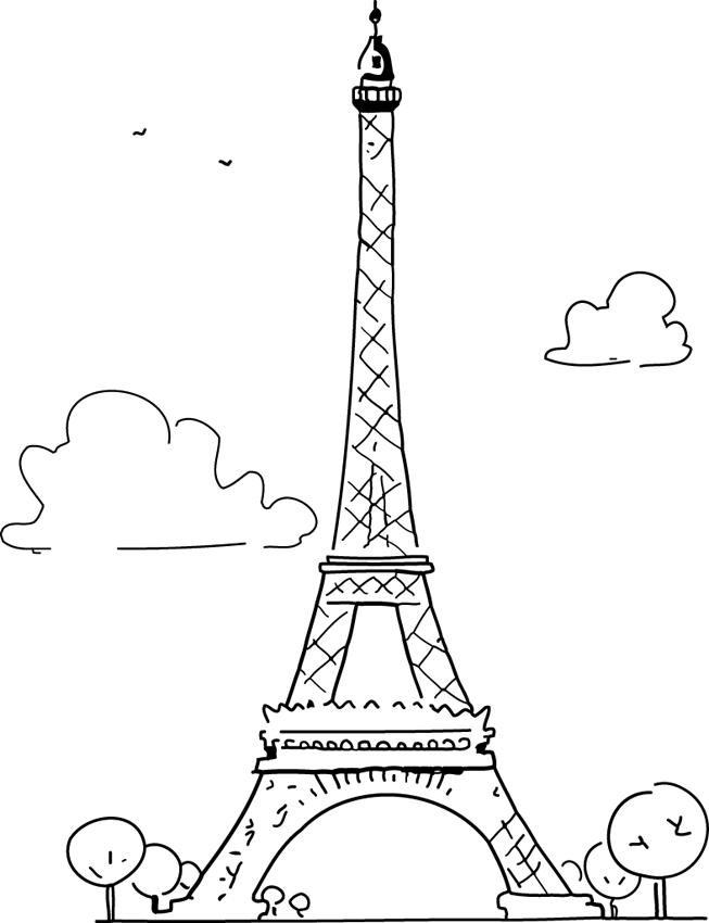 Passion Tour Eiffel: Comment dessiner la Tour Eiffel