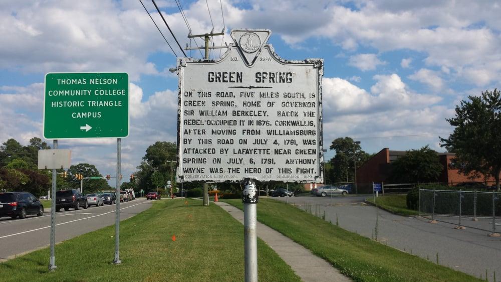 Historical Marker For the Battle of Spencer's Ordinary: Richmond Rd, Williamsburg, VA