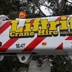 Liftrite Rigging & Crane Hire - Request a Quote - Crane