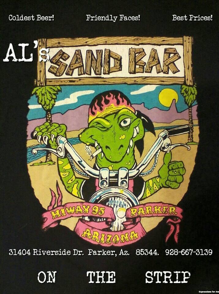 Al's Sandbar: 31404 Riverside Dr, Parker, AZ