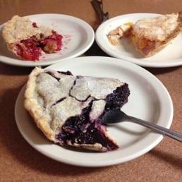 Blackberry, cherry, peach pie - Yelp