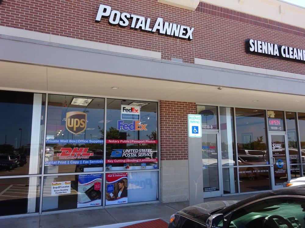 Postal Annex: 10330 Hwy 6, Missouri City, TX