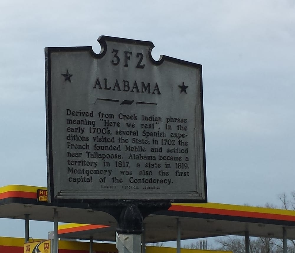 Alabama Historical Marker: 26446 Main St, Ardmore, TN