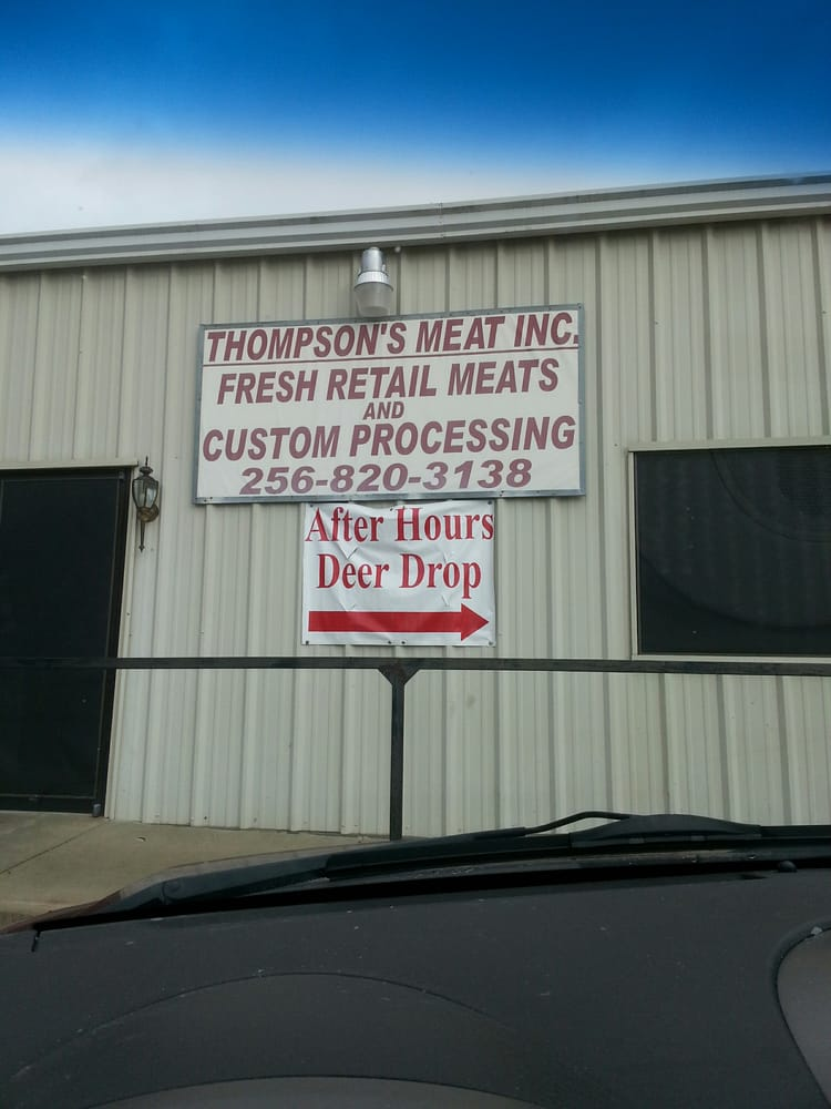 Thompson's Meat Processing: 987 Halls Chapel Rd, Alexandria, AL