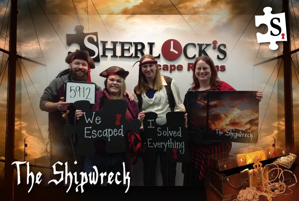 Sherlock's Escape Rooms: 7916 Connector Dr, Florence, KY