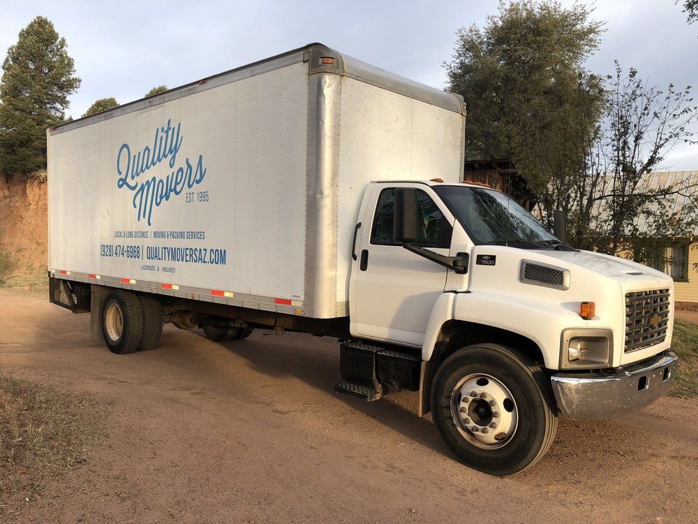 Quality Movers: 201 W Main St, Payson, AZ