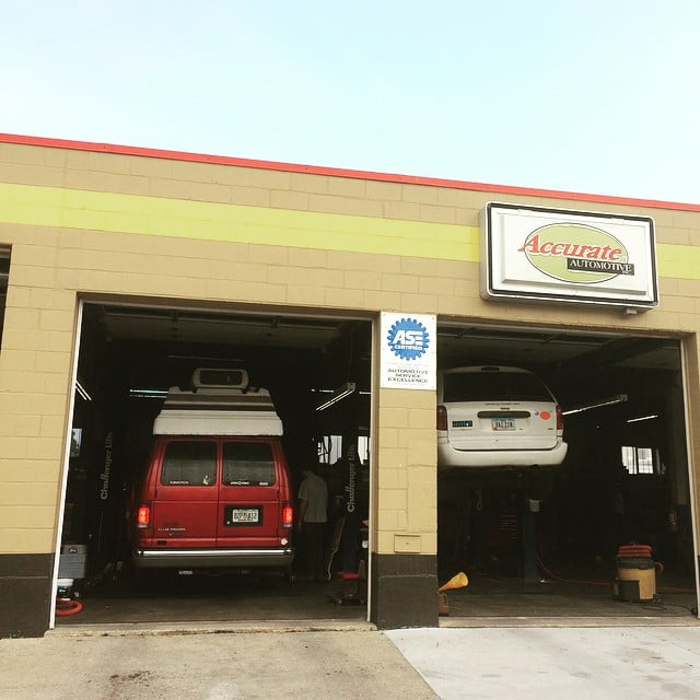 Accurate Automotive: 1010 Orchard St, Iowa City, IA