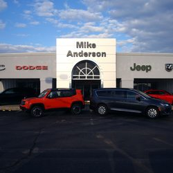 Mike Anderson Chrysler Dodge Jeep Ram Of Marion Auto Repair