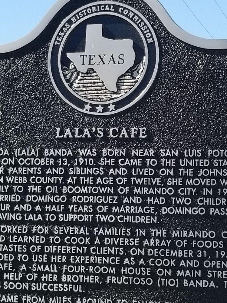Lala's Cafe: 649 Main Rd, Mirando City, TX