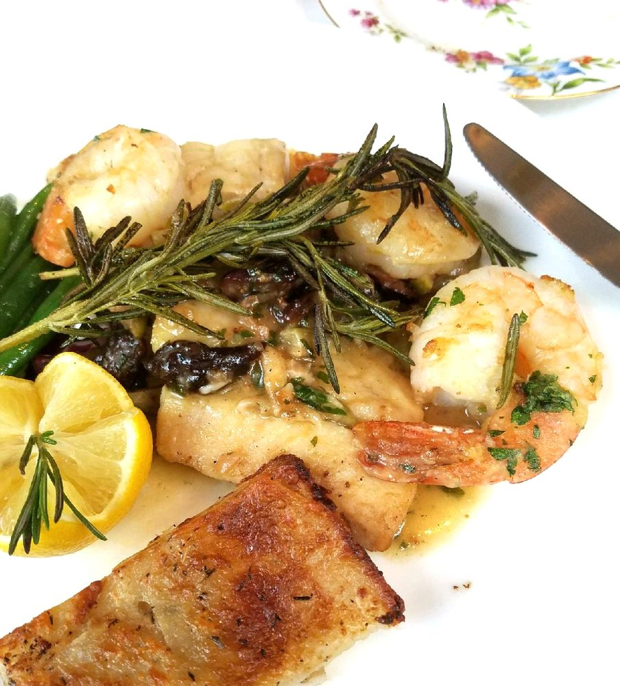 Snapper with shrimp yelp - Italian garden boiling springs nc ...