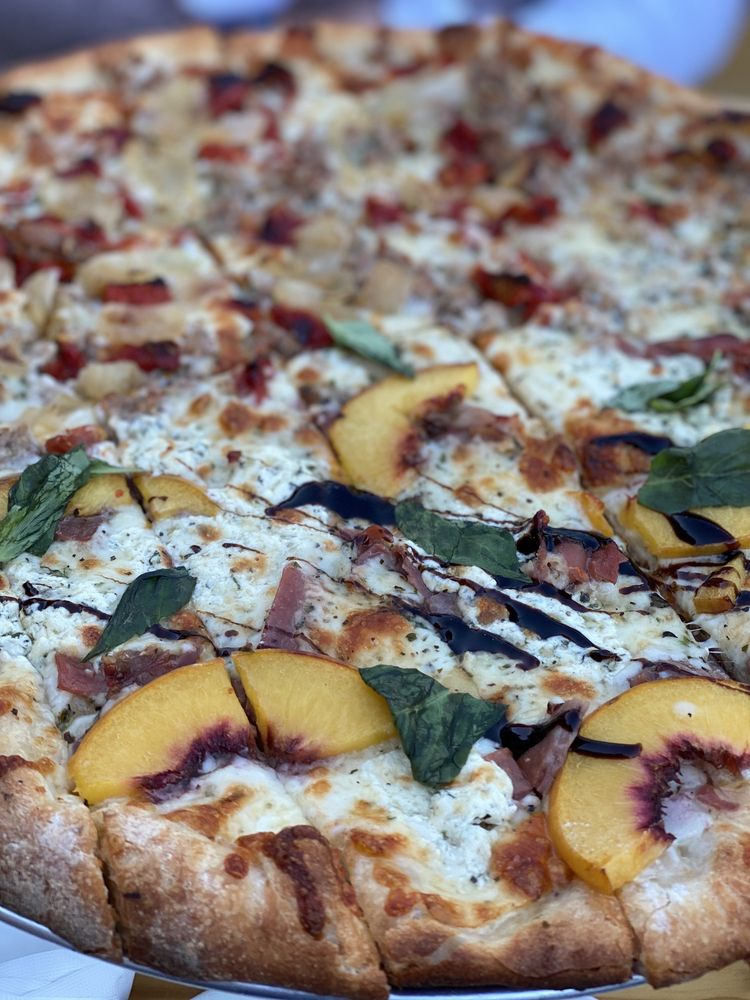 Piñons Pizza Company: 23 Birch Hill Rd, Locust Valley, NY