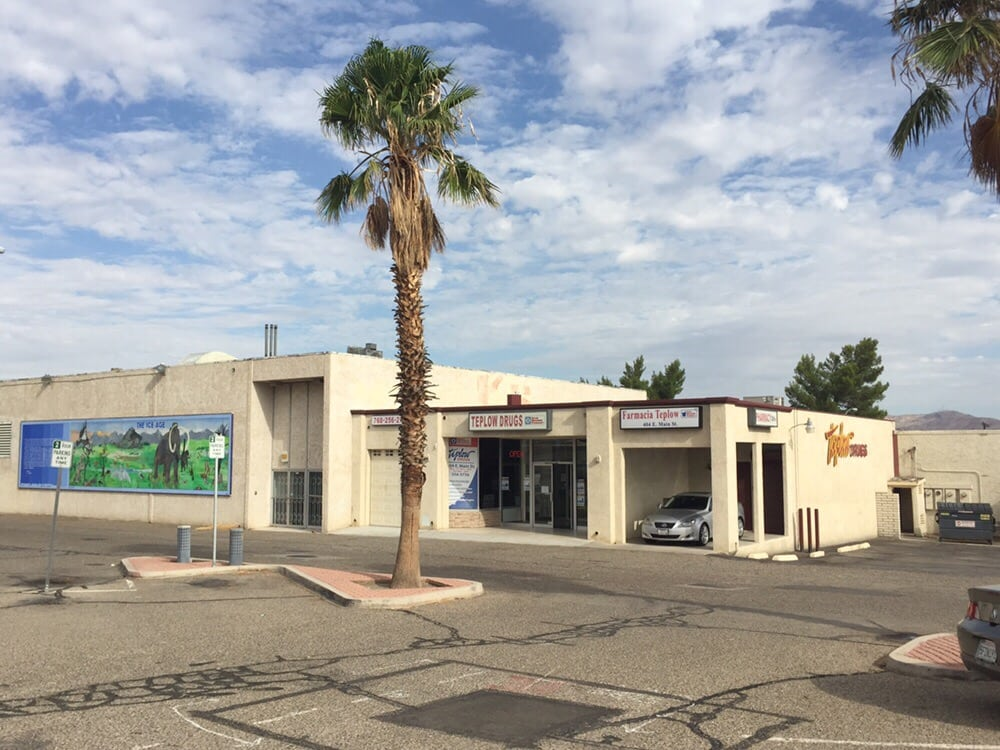 Teplow Drugs: 404 East Main Street, Barstow, CA